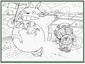 Image 3 - Anime mój sąsiad Totoro kolorowanka dla dzieci dorosły stres stres zabij czas malowanie rysunek antystresowy książki prezent