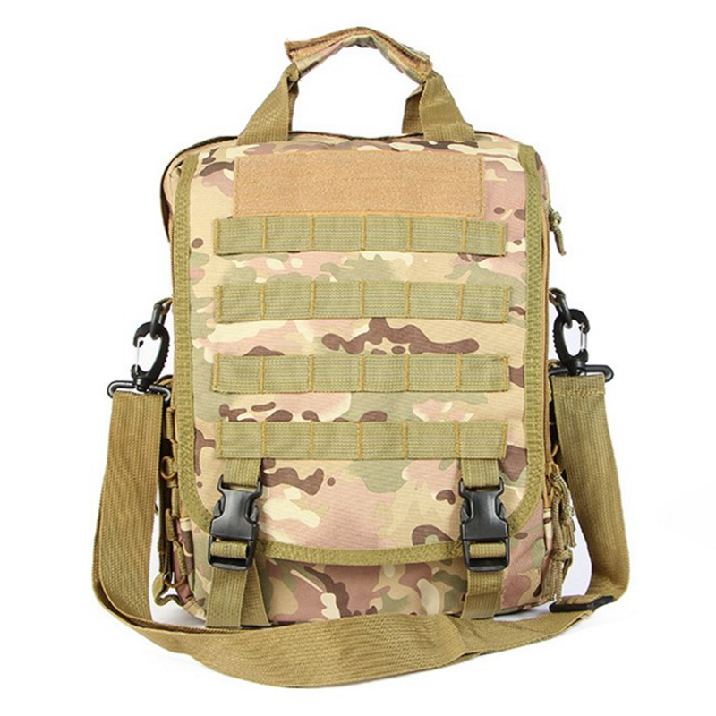 Multicam Tactical Military Backpack Army 14'' Laptop Bag Men's Outdoor Hunting Leisure Multifunction Molle Bag