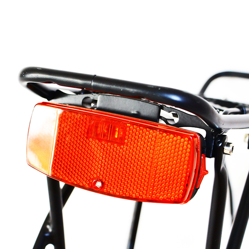 plastic bike bicycle tail safety warning lamp cycling bike rear reflector lig Ch