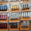 4 PCS Liga de Alumínio Colorido Manga Válvulas Do Pneu de Carro Pneus de Vácuo Comum Bico Boca Inflável