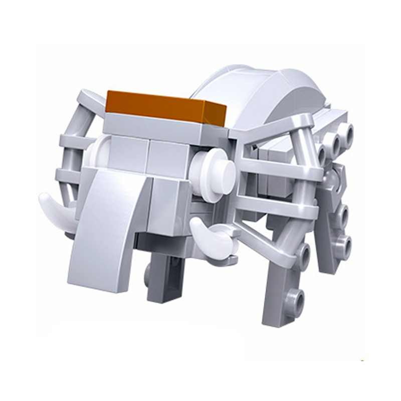 Legoing Minecrafted Animals Giraffe Crocodile Tiger Animals Cow Cattle Horse Shark Building Blocks Sets Toys Legoings Minecrafte