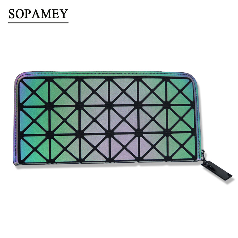 SOPAMEY Fashion Baobao Women Long Purse Clutches Embossing Female Zipper Wallet Money Bags For Woman Cards Purse And Hand bags yuanyu free shipping 2017 hot new real crocodile skin female bag women purse fashion women wallet women clutches women purse