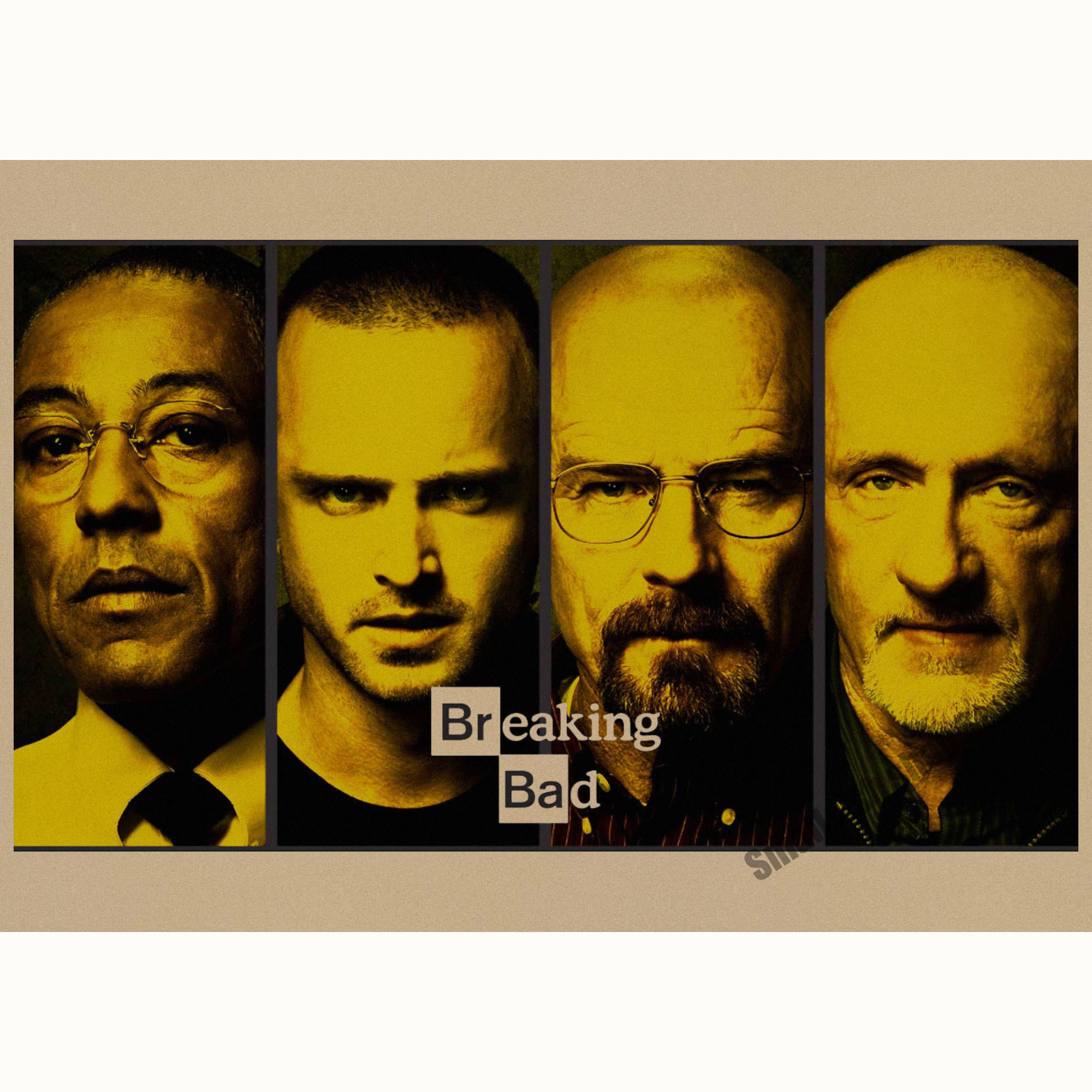 Breaking bad movie retro poster retro kraft paper bar cafe home breaking bad movie retro poster retro kraft paper bar cafe home decor painting wall sticker in wall stickers from home garden on aliexpress alibaba amipublicfo Choice Image
