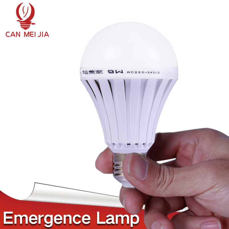 Magical E27 LED Lamps 5W 7W 9W 12W B22 Emergency Light Bulb E27 Led Bulb Rechargeable Lighting Lamp 220V Bombillas Leds Light led smart rechargeable e27 emergency light bulb lamp home commercial outdoor lighting b22 5w 7w 9w 12w 220v energy saving lamp