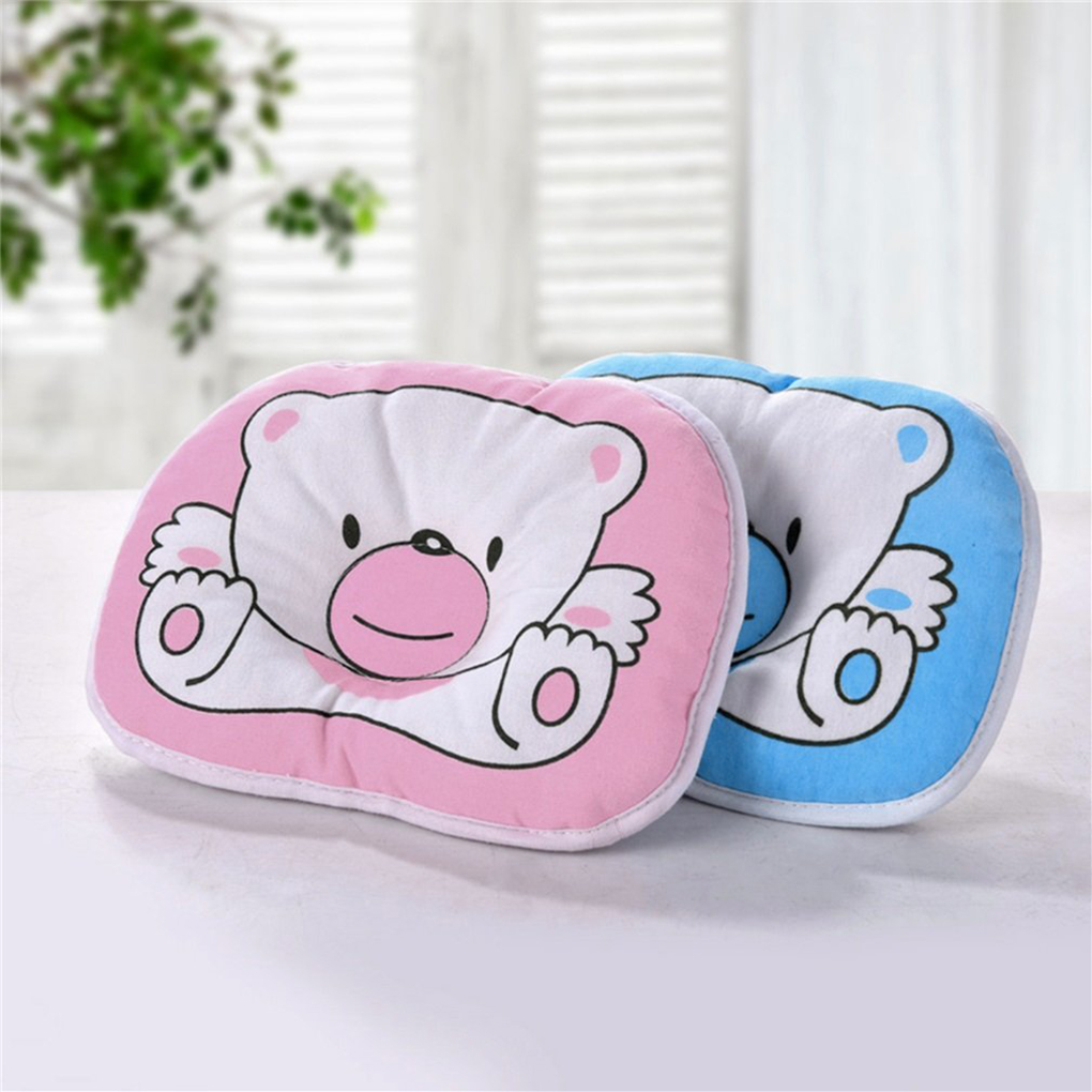 Baby Pillow Anti Roll Cushion And Infant Toddler Sleep Positioner And Pillow Protection For Head And Neck