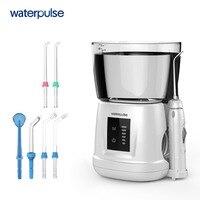 Waterpulse V700PLUS Вода Flosser 1000 мл Ёмкость Ирригатор для полости рта зубной нитью инструмент орошения ротовой полости гигиена полости рта 6 шт. совет
