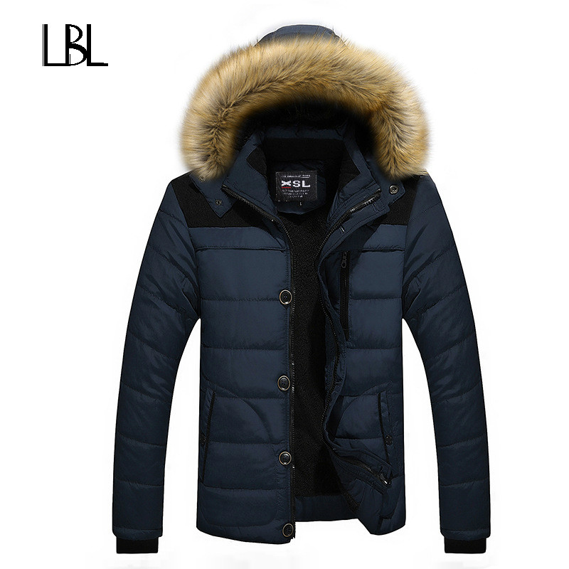 2018 Solids Men Hoodies Fashion Red Duck Brand Down Jacket Men Winter Coat Hooded Zipper Rib Cuff Jackets Winter Men XXXXL#EM014 rib cuff zippered hooded coat