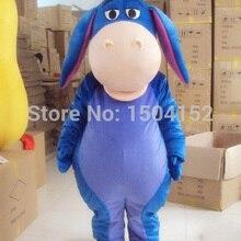 Маскарадный костюм осла персонажа из мультфильма синий осел животное костюм косплей талитовары сман товары на заказ