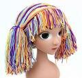 Handmade Crocheted Children color mix  Boy Girl Caps Halloween Funny Hats Shower Gifts