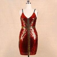 Luxury Dress 2016 Golden UK Flag Red Dress Short Summer Dresses For Woman Dropshipping KR4015 3