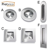 Probrico Diameter 12mm Length 100mm 320mm Hollow Stainless Steel Kitchen Cabinet Door T Bar Knob Furniture
