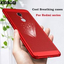 KINBOM For Xiaomi 5 5s 5x 5splus 6 Mix2 Max2 Heat Dissipation Phone Case Redmi 4A 5plus Note 4X 4a 5a 2G 3G 4G PC Hard