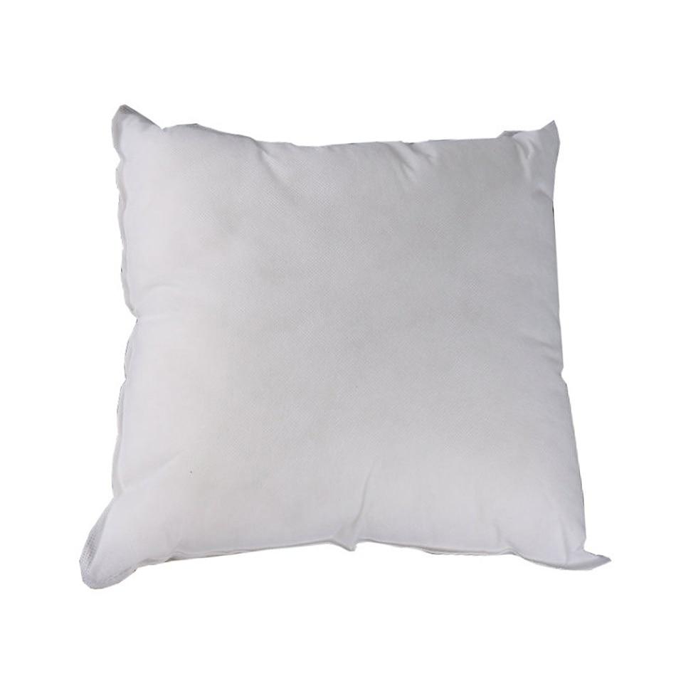 Подушка вставки подушка наполнение квадратная подушка вставки основной диван кровать подушки белый 40*40 45*45 - Цвет: Белый