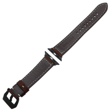 Vintage Genuine Cow Leather Watchband for iWatch 38mm 42mm