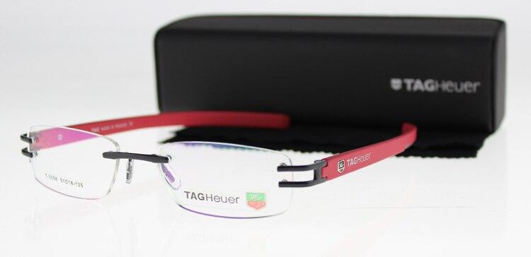 2014 Fashion Brand Women&Men Optical Frame Rimless Eyeglasses oculos de grau Spectacle TH-3356 Glasses - Rainbow Eyewear store