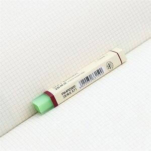 Image 5 - 30 יח\חבילה מחק רך עבור עיפרון מחקי 2B צבע פשוט F887 ציוד לבית ספר משרד מכתבים כלים borracha לילדים מתנה