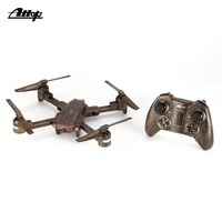 Attop X PACK1 2.4G 4CH Drone RC Foldable Quadcopter Aircraft with Altitude Hold Headless Mode 3D Flips One Key Take Off