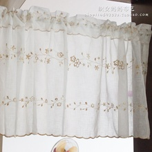 1 pc White Color Tulle Door Short Curtain Sheer Color Modern Living Room Curtains Tulle Sheer Fabrics 5 Sizes Cortinas Salon