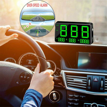 Digital GPS Speedometer Overspeed Warning Safe Automobiles Replacement Parts Gauges For Car Motorcycles