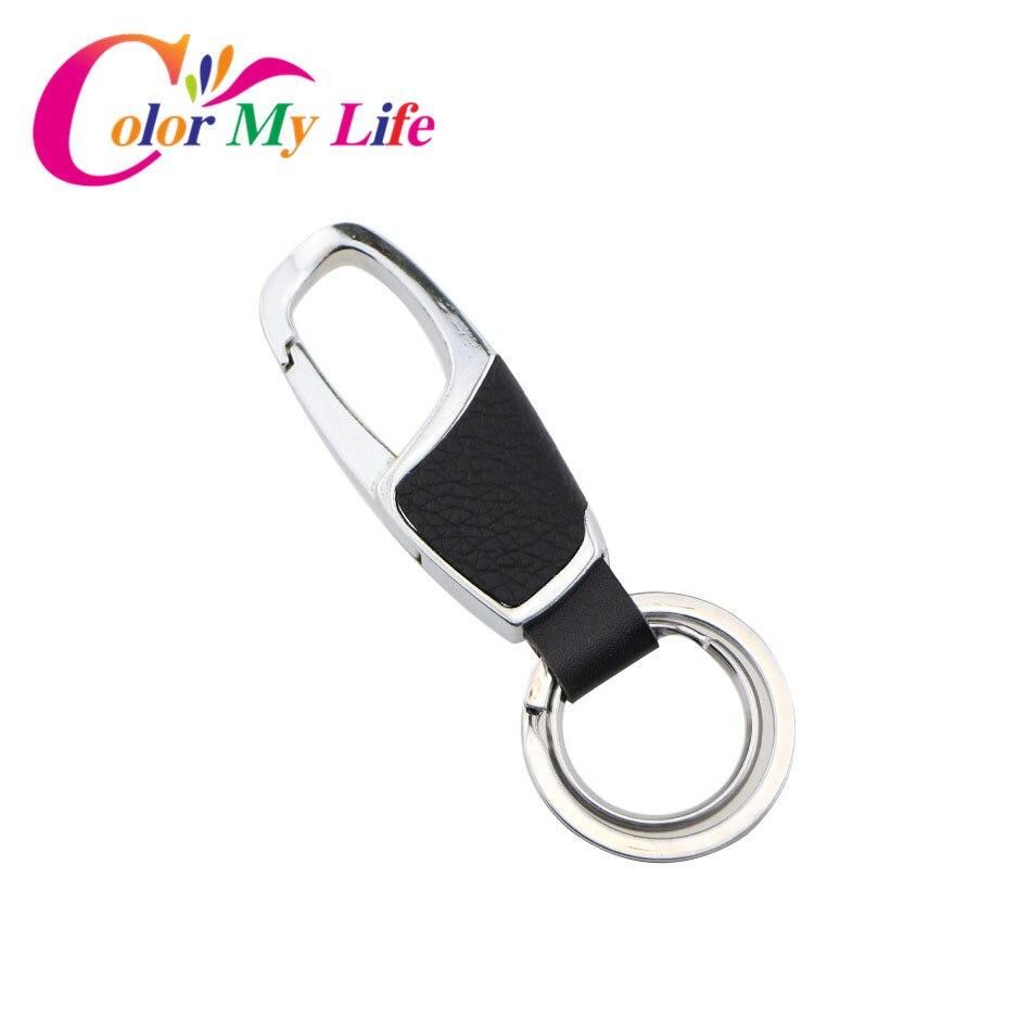 Color My Life Stainless Steel Key Ring Case Chain Keychain for Kia Sportage R K2 RIO Soul Forte K3 K5 K7 Sorento Venga Carens