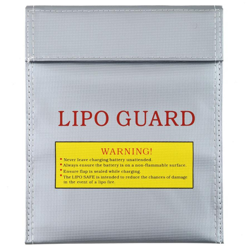 цены  RC LiPo Li-Po Battery Fireproof Safety Guard Safe Bag Charging Sack 18x23  Levert Dropship Oct 26