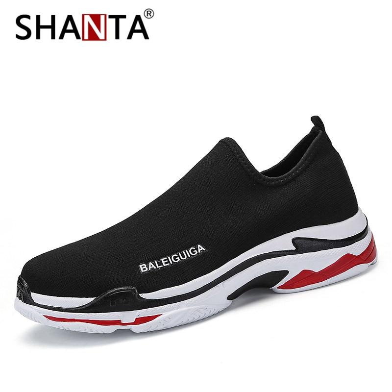 Shanta Beathable Black high En Calcetín Black Top Zapatos Casuales Hombres Niños Alta Mocasines Luz Deporte Malla Zapatillas Los De Hombre Deslizamiento rHxpXrUqw