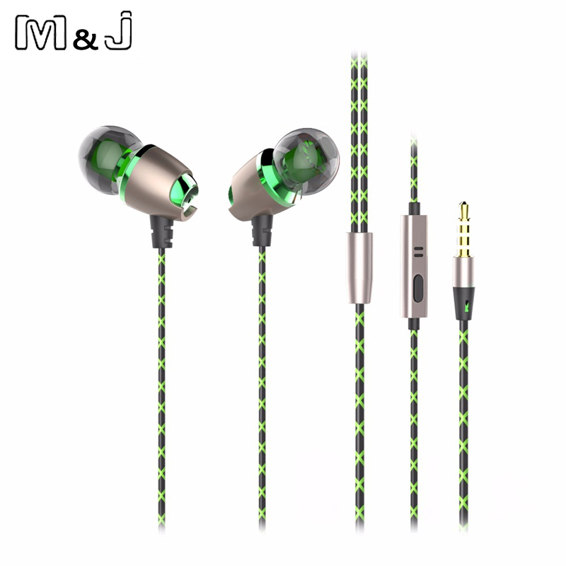 M&J X50M New Magnetic In Ear Headset With Microphone Noise Cancelling Earbuds Earphone For iphone Sumsung Xiaomi MP3 in ear connector earbuds 3 5mm wired earphone with microphone noise cancelling headset for lg xiaomi iphone samsung mp3 mp4