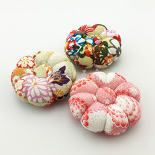 3pcs/lot Cross Stitch Sewing Pin Cushion Tailors With Soft Cotton Fabric DIY Handcraft Tool for cross stitch