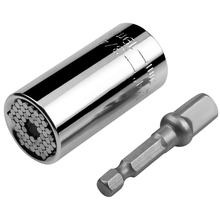 Universal Torque Wrench Head Set Socket Sleeve 7 19mm Power Drill Ratchet