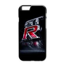 JDM Car NISSAN GTR Metal Case for iPhone 4 4S 5 5S 5C SE 6 6S 7 Plus Samsung Galaxy S3 S4 S5 Mini S6 S7 S8 Edge Plus A3 A5 A7