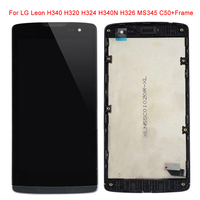 For LG H340 H320 H324 H340N H326 MS345 C50 LCD Display Touch Screen Digitizer Assembly With