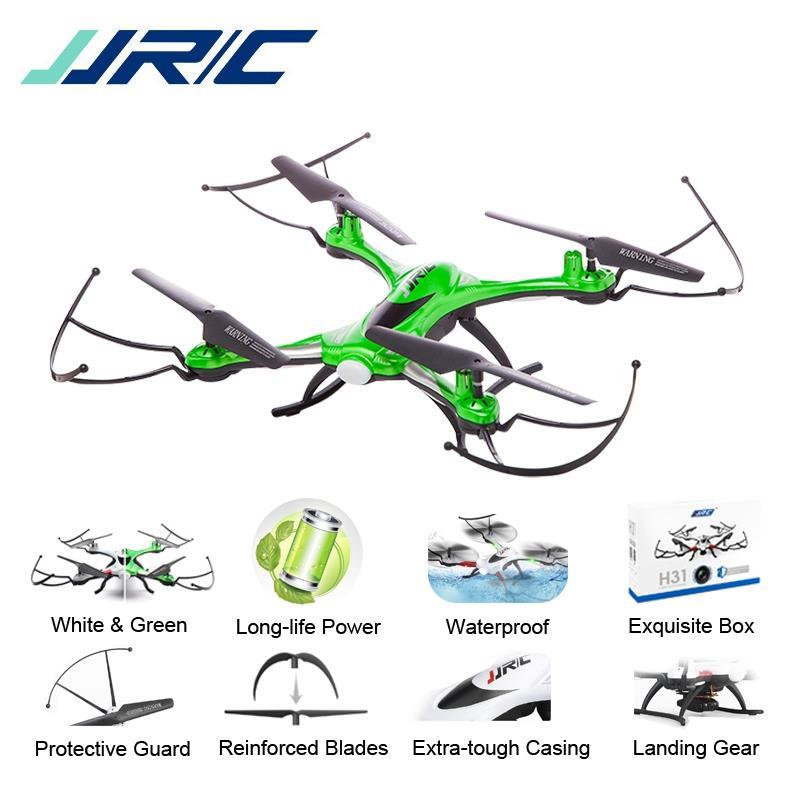 Jjr/c jjrc H31 Водонепроницаемый анти-катастрофа 2.4 г 4ch 6 оси Quadcopter Безголовый режим LED Радиоуправляемый Дрон игрушка Супер Combo RTF VS H37 SYMA x5c