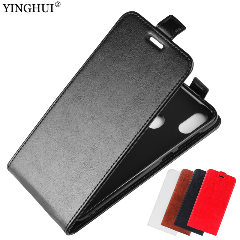 Case For OUKITEL C15 Pro Cover Vertical PU Leather Protective Phone Soft TPU Back
