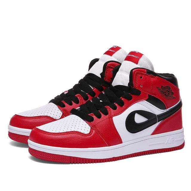 0ef60dc23a7 2018 Men Jordan Basketball Shoes Athletic Mens Air Shoes Couple Walking  Sneakers AJ1 Lover Comfortable Breathable Sports Shoes47