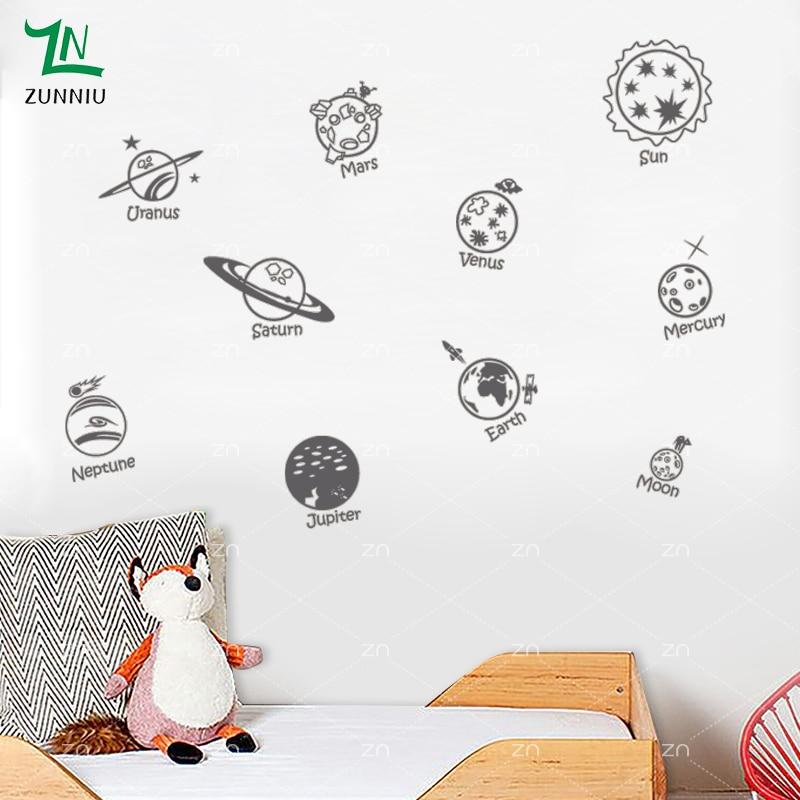 E423 Wall Stickers Басты декор DIY плакат Decal - Үйдің декоры - фото 6