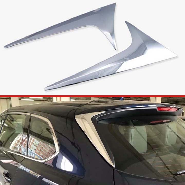 For <font><b>Mazda</b></font> CX-9 <font><b>CX9</b></font> <font><b>2017</b></font> 2018 2019 Decorate Accessories ABS Chrome Side Door Rear View Window Spoiler Cover Trim image