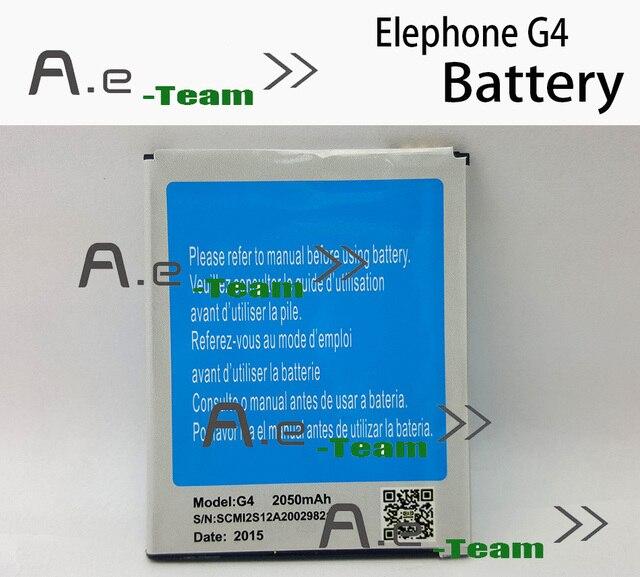 For Elephone G4 Batttery 2050mah Li-ion Battery Li-Battery Replacement accessories For Elephone G4 Android Phone Smart Phone