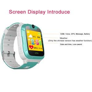 Image 4 - D1 3 グラム gps トラッカースマート子供腕時計キッズベビー gps wifi トラッカー sos スマートウォッチ子供のスマートウォッチ vs Q50 Q90