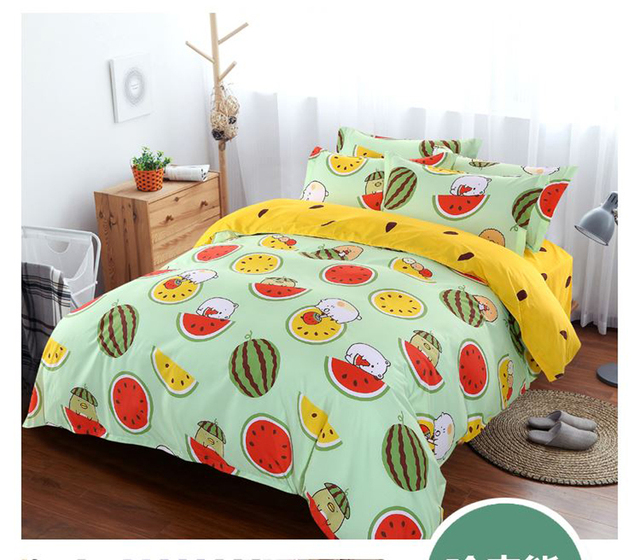 Cotton 3d Owl Bedding Set Twin Queen King Size Bed Linen Bed Sheet