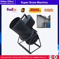 1500W Stage super snow machine Special scene effect ice snow flake macking machine for wedding celebration event