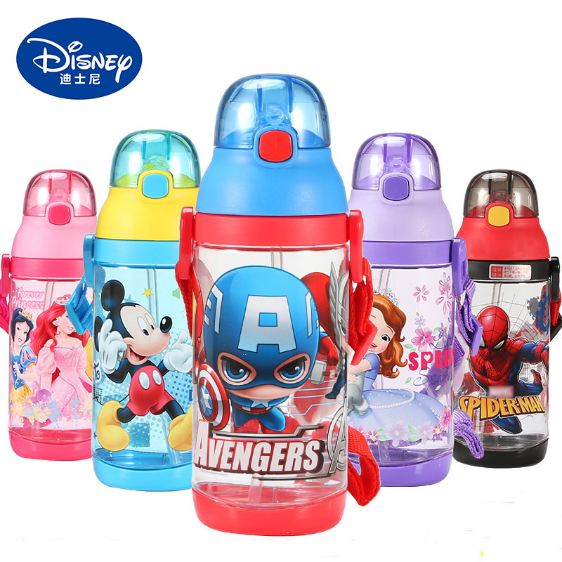 dab5b338d2 Detail Feedback Questions about 520ML Disney Cup Baby Feeding Straw Bottle  Water Cartoon Children Bottle Kids Kettle Sports Bottle Portable Copos on  ...