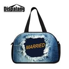 Dispalang Jeans design big bag for travel Cool garment bag for Men duffle bag luggage sets for Girls lightweight Overnight bags