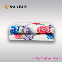 Теплое одноместное одеяло с электрическим подогревом (220 В)
