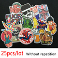 25pcs/lot Mixed Sticker Hot sale Home decor toy styling laptop stickers for motorcycle skateboard doodle toys stickers