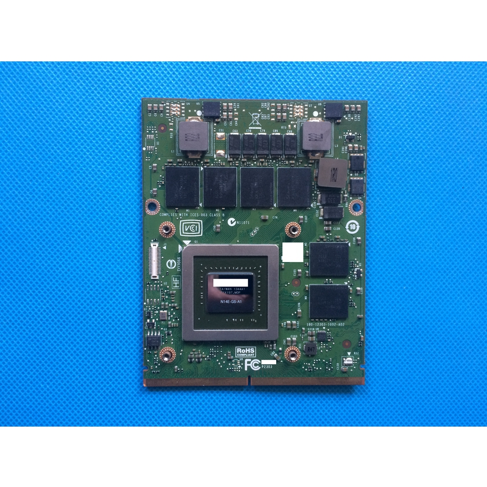 D3XJC 0D3XJC CN-0D3XJC Genuine New <font><b>GTX</b></font> <font><b>770M</b></font> GTX770M 3GB GDDR5 MXM Video Card for Alienware 17 R1 / 18 R1 image