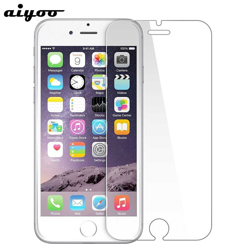 Tempered Glass for iPhone 6 7 8 XR SE 4S 5S 5 6S Screen Protector for iPhone 7 6S 8 Plus Protective Glass for iPhone X XR XS Max