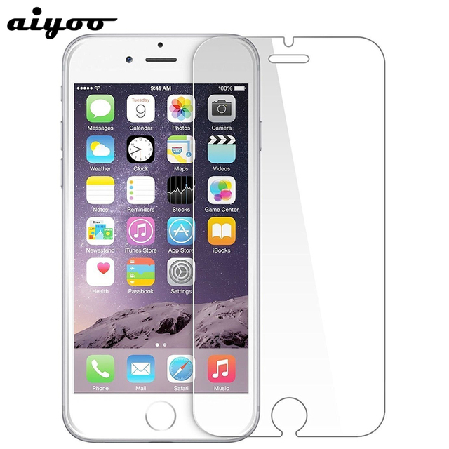 Tempered Glass Iphone 6 7 8 X Se 6s 5s 5 4s Screen Protector Protective Plus Protection Film