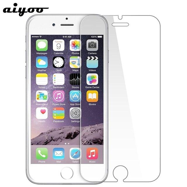 29ef39e36d9 cristal templado for iphone 7 6s 6 8 x se 5s 4s protector pantalla para  iphone ...