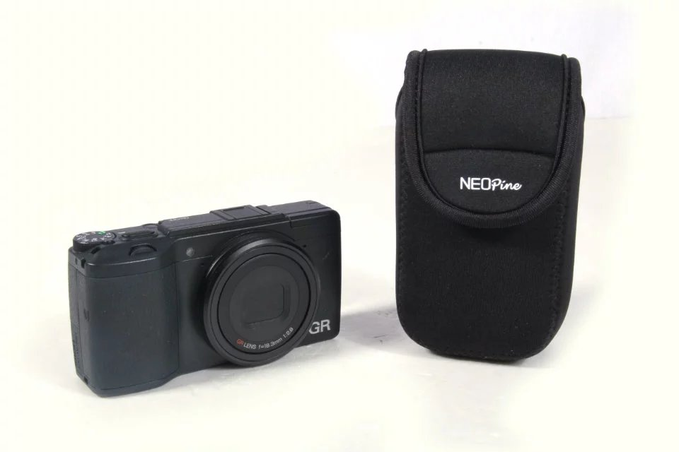 Pouch Hanging-Buckle Inner-Camera Shockproof Neopine Ricoh Case-Bag Soft for Gr2/gr-Ii
