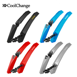 CoolChange Bicycle Mudguard Mountain Bike Fenders Set Mud Guards Bicycle Mudguard for Cycling Front Rear Fenders